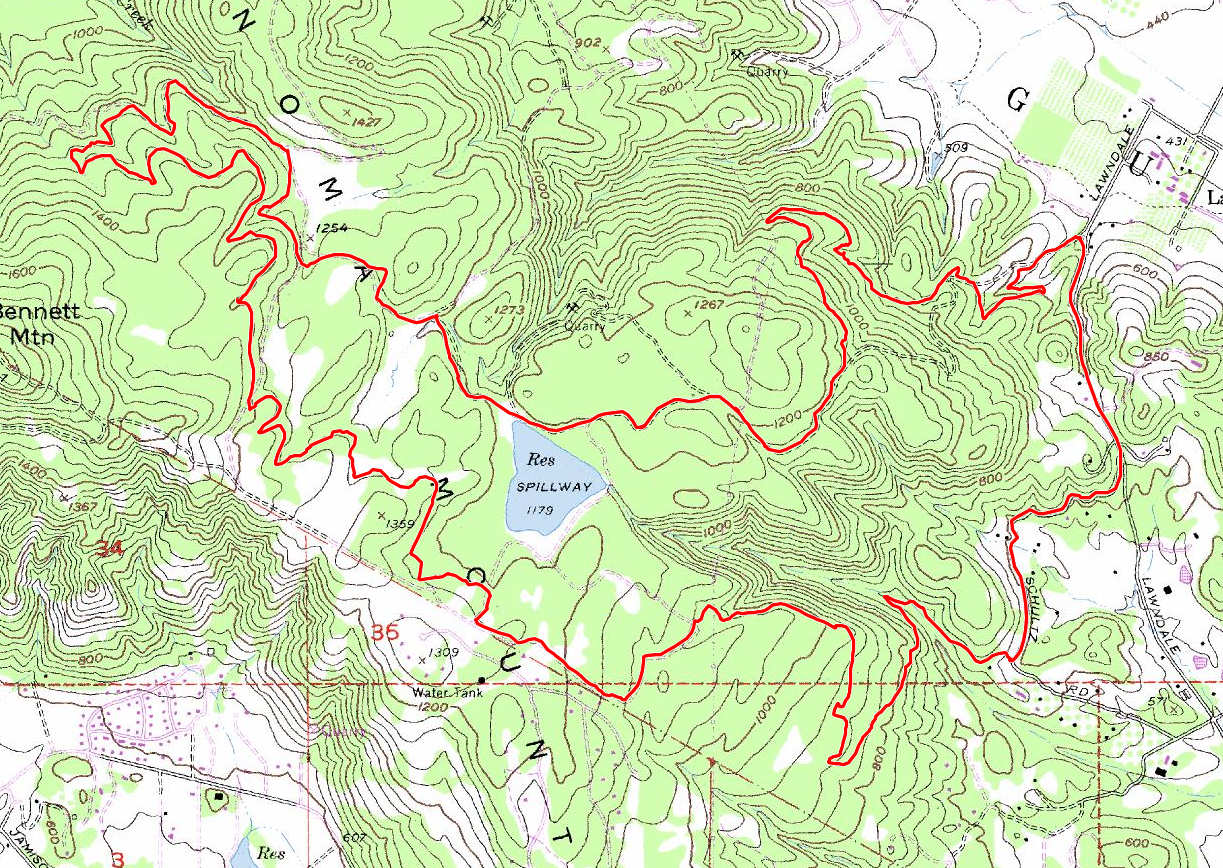 Annadel (Suggestion 2) - Bay Area Mountain Bike Rides