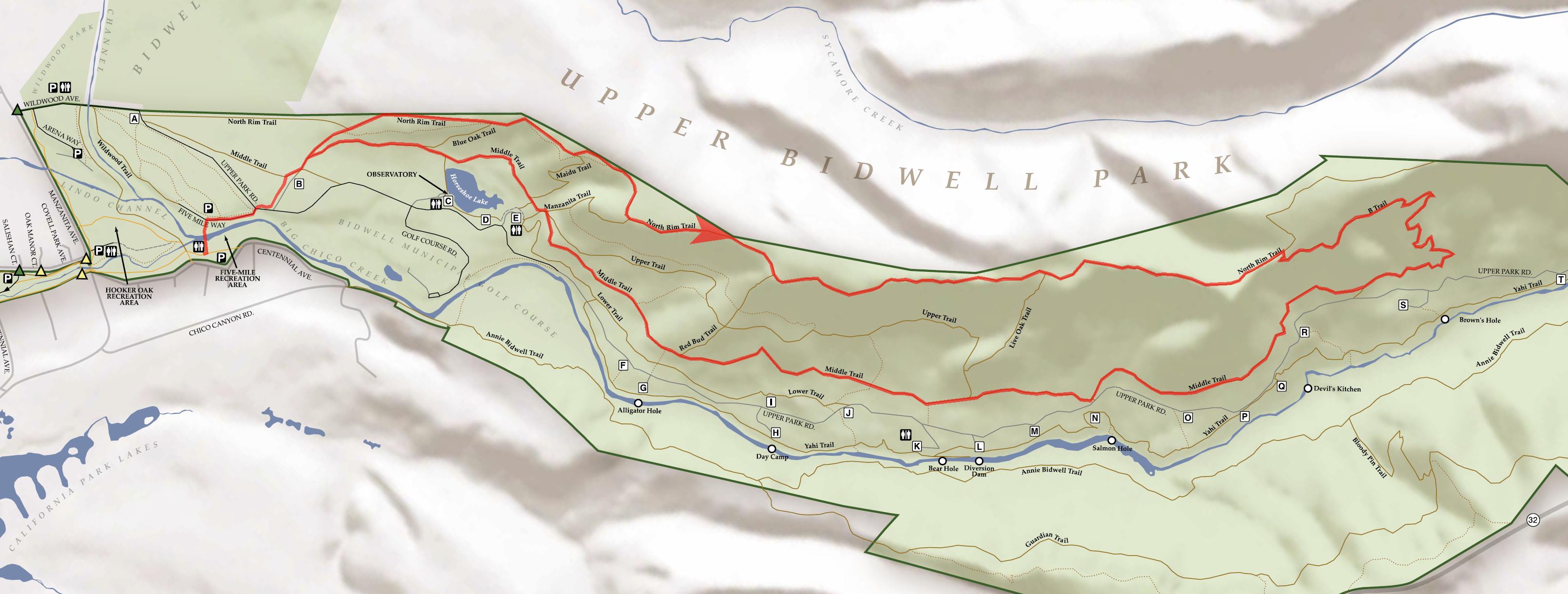 Bidwell Park Bay Area Mountain Bike Rides